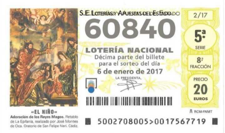 Comprobar nъmeros de loteria del niсo 2020