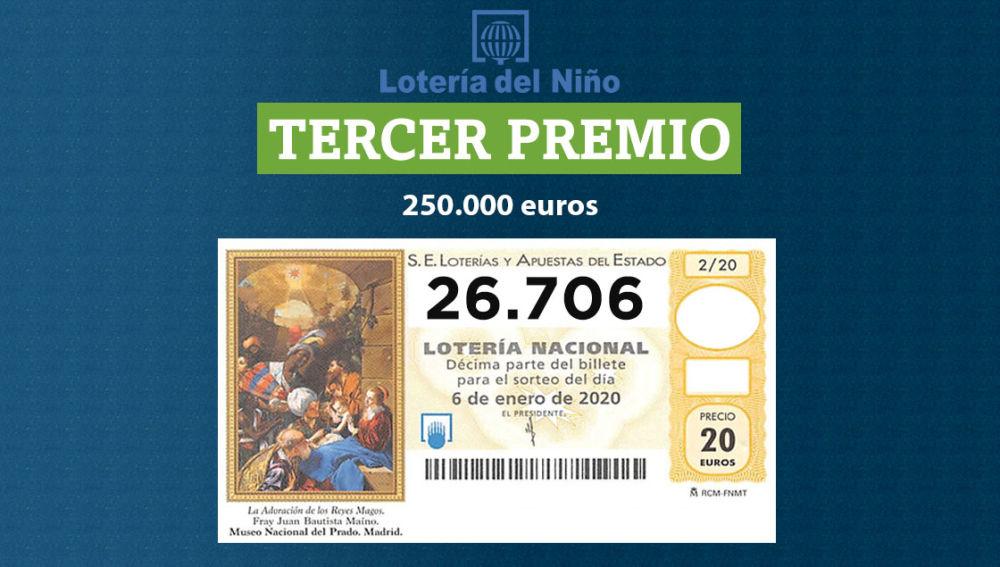 Los resultados de la lotería del niño 2020, loterнa del niсo 2020